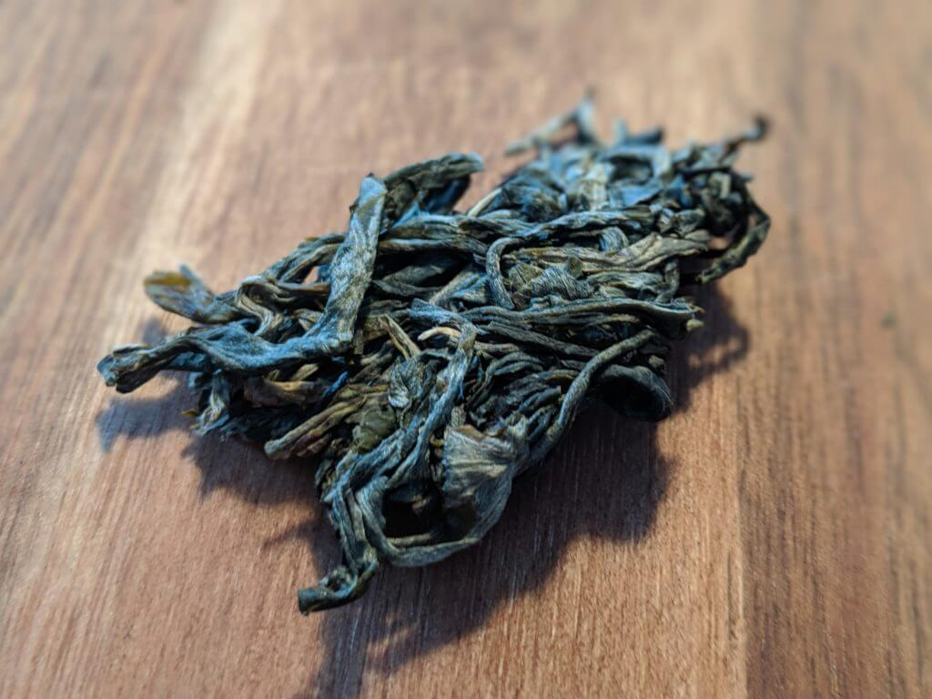 Bitterleaf Teas 2018 Core puerh chunk close up