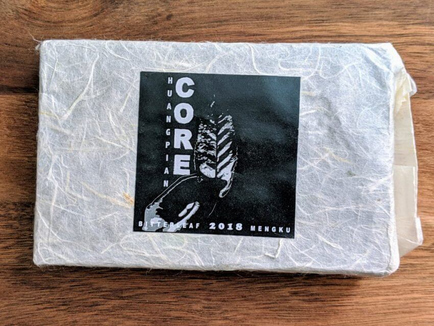 Bitterleaf Teas Core Huang Pian Wrapper