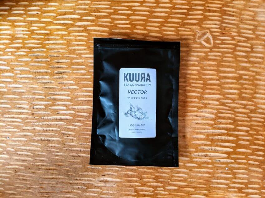Kuura Vector puer sample packaging