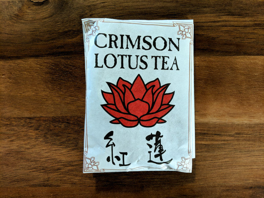 Crimson Lotus Tea
